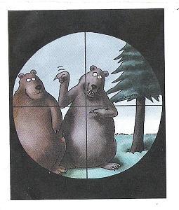 Gary Larson Bear